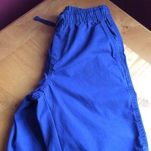 Gap boys sz m navy shorts EUC